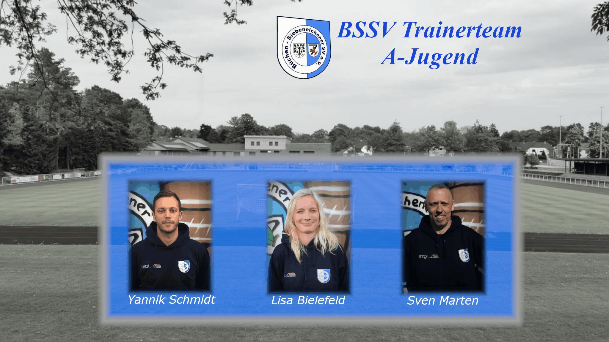 Das Trainerteam der A-Jugend