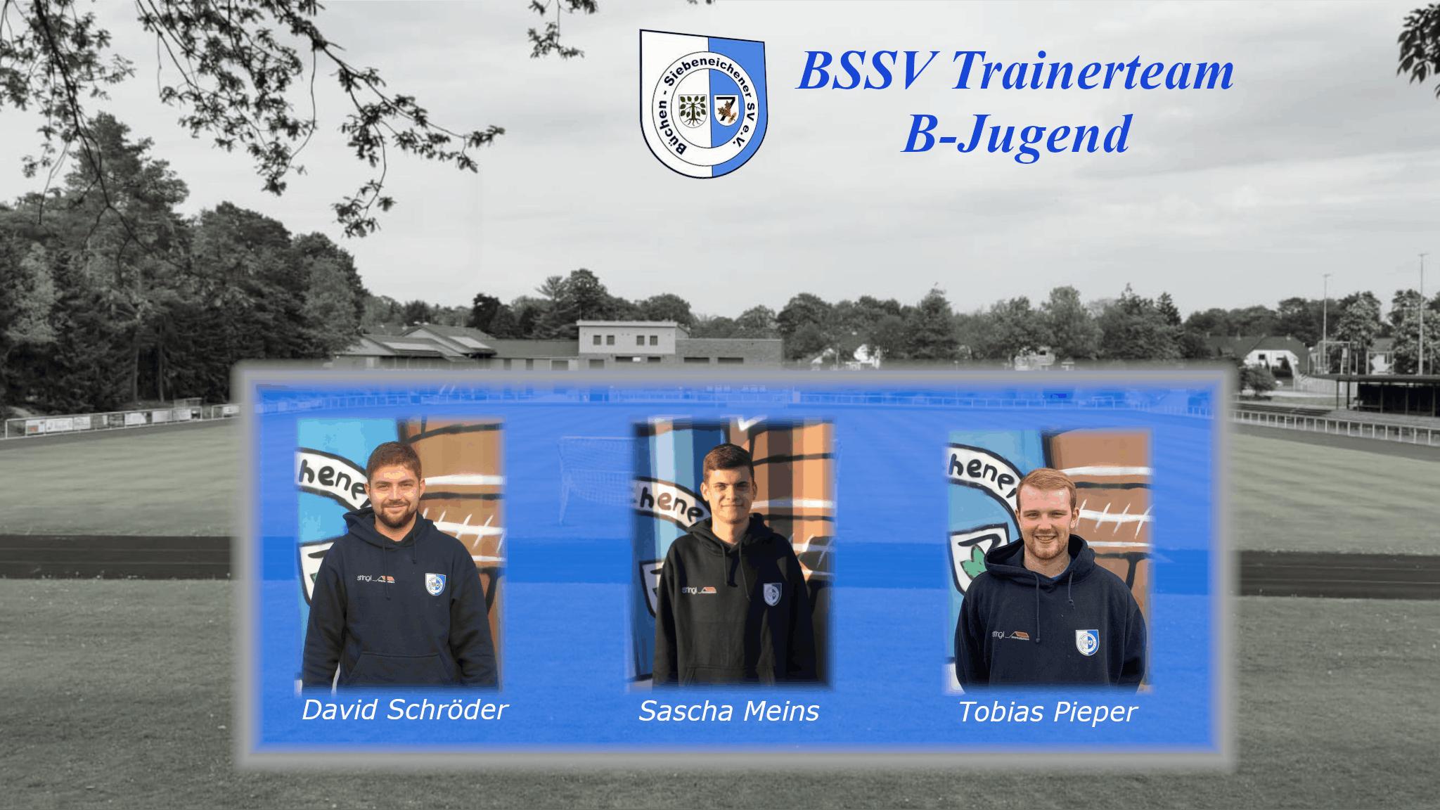 Das Trainerteam der B-Jugend