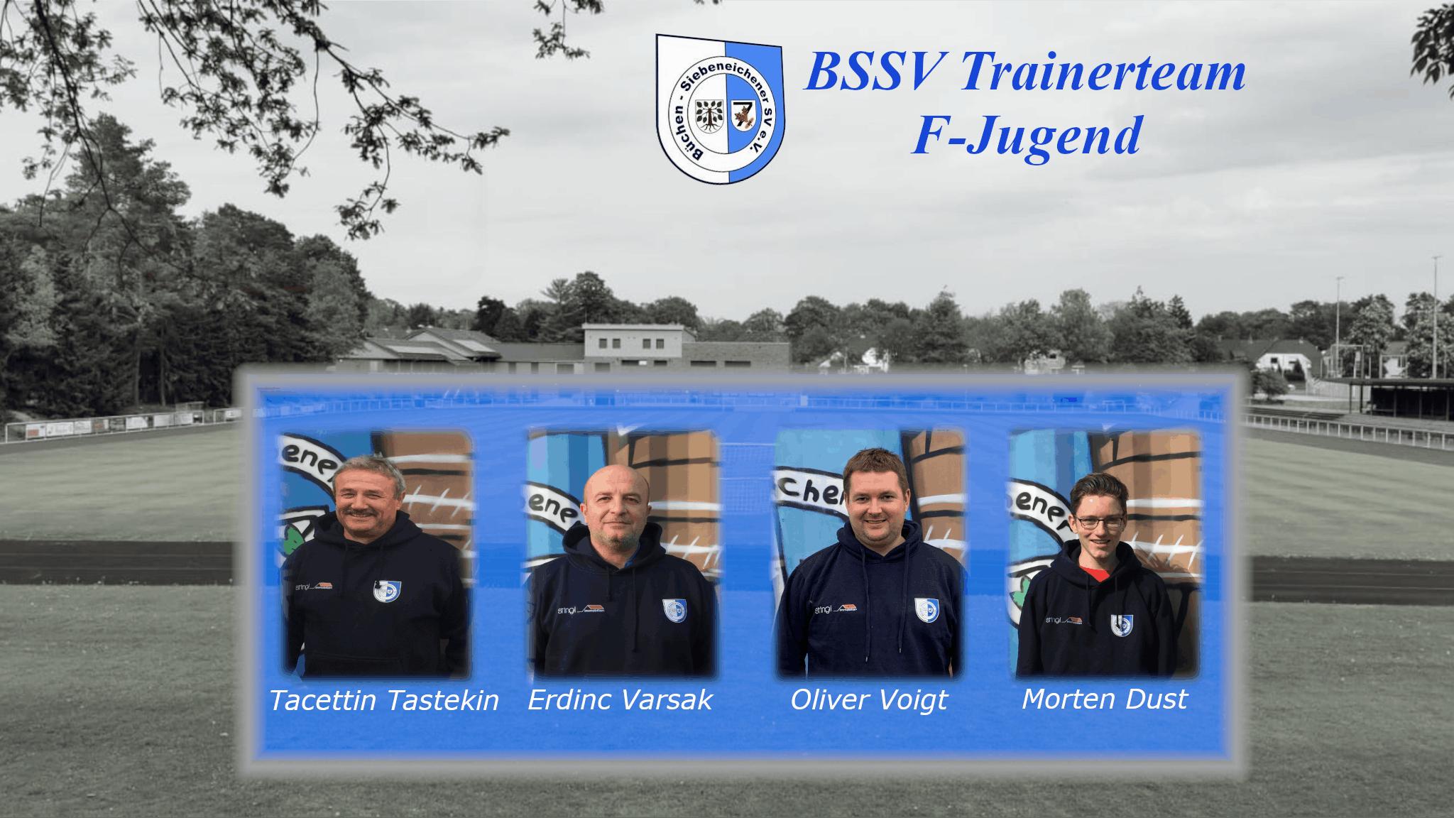 Das Trainerteam der F-Jugend