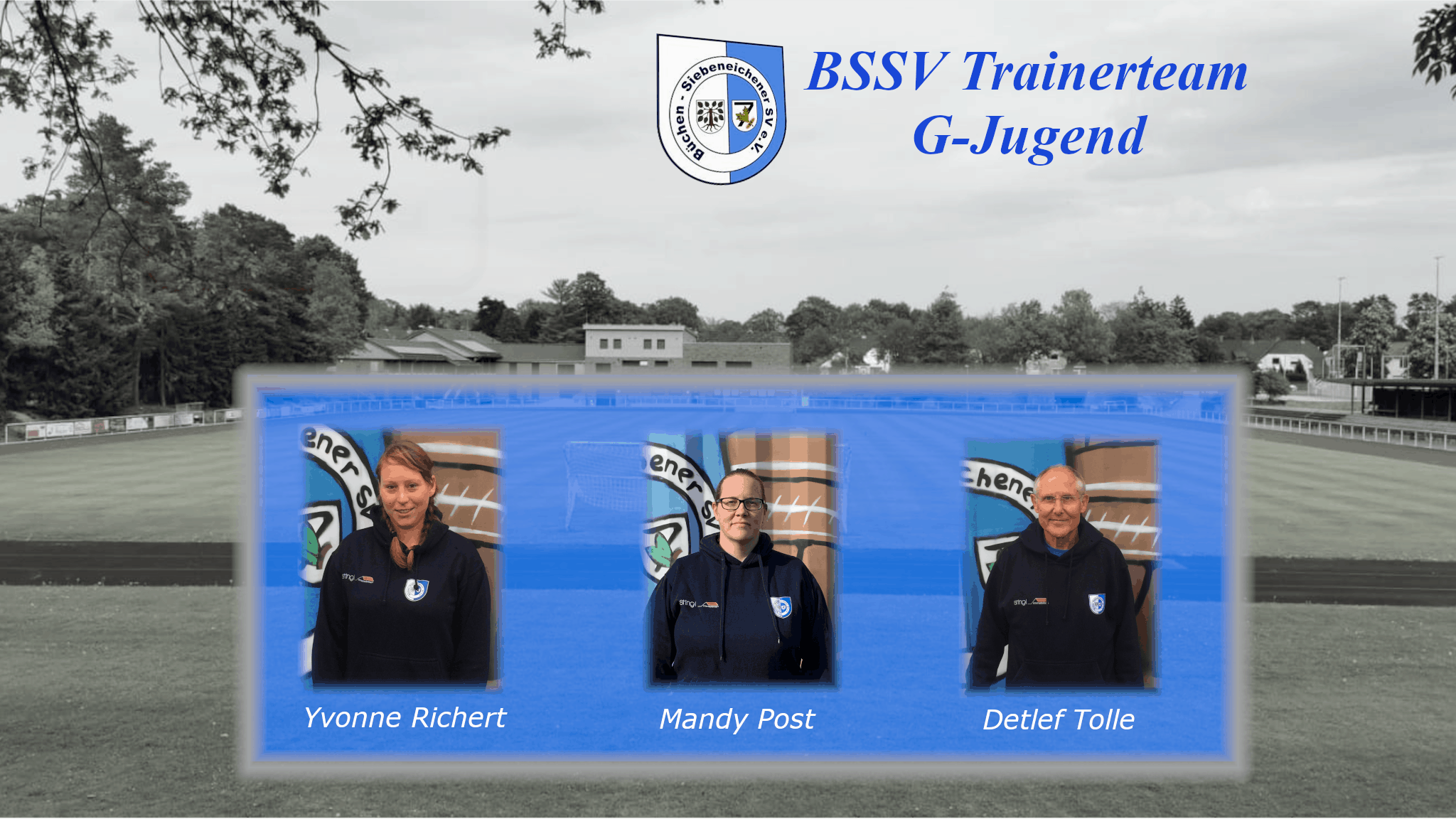 Das Trainerteam der G-Jugend